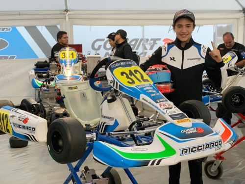 Pablo Pérez de Lara a la Richard Mille Young Talent Academy