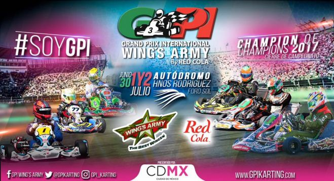 Se prepara el AHR para el Grand Prix International Wing's Army