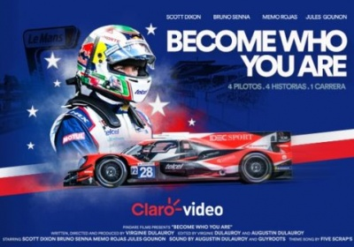 "Memo Rojas, presenta el documental ""Become who you are"" sobre las 24 Horas de Le Mans"