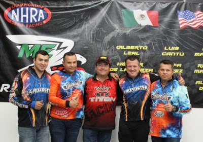 Llegan pilotos mexicanos a las pistas del National Hot Road Association