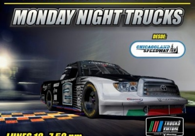 Chicagoland Speedway, fecha 3 de Trucks Virtual México Series