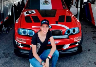 Majo Rodríguez entra en acción en el Virginia International Speedway